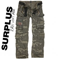 Travler Royal Black Camo trouser