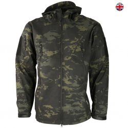 Brittisk Multi Terrain Softshell Jacket - Sort