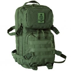 Cooper Backpack Keep Calm - Green