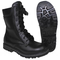 German BW Army Combat Boots - Sort