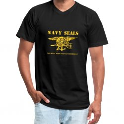 T Shirt NAVY SEALS - Sort
