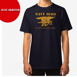 T Shirt NAVY SEALS - Navy Bue