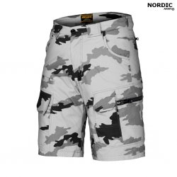 Nordic Army® Elite Shorts - Snow Camo