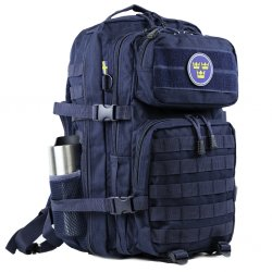 Nordic Army® Assault rygsæk meshlomme 28L - Navy Blue