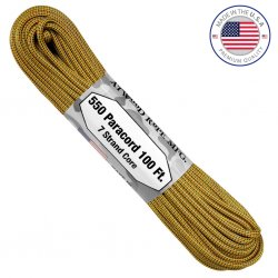Atwood Rope MFG Changing Paracord - Golden Rod