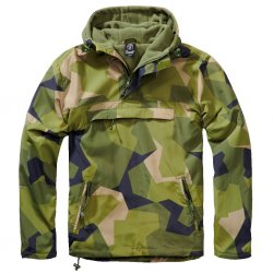 Brandit Windbreaker Winter - M90 Swedish Camo