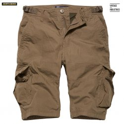 Terrance Shorts - Dark Khaki - Vintage Industries