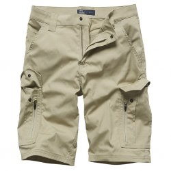 Vintage Industries Bearing Technical Shorts - Beige