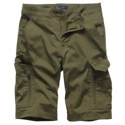 Vintage Industries Bearing Technical Shorts - Olive