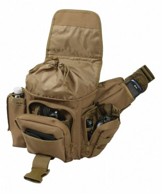 Amerikansk Rothco Axel/Hip bag Coyote Brun