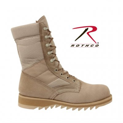 GI TYPE Jungle Boot ribbed soles Desert Military Boots