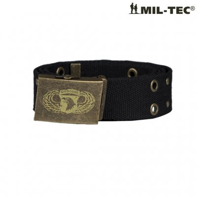 Mil Tec Airborne Belt Black