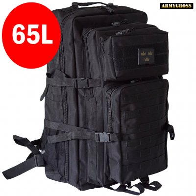 Nordic Army Assault Backpack 65L - Black