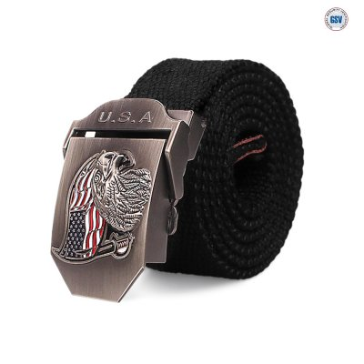 Nordic Army Belt U.S.A - Black