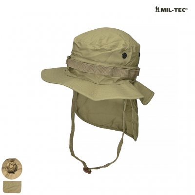 BRITISH Coyote R/S BOONIE WITH NECK FLAP