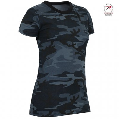 2f7cd81a Rothco Women´s T-Shirt - Midnight Blue Camo - T Shirts - Damkläder ...
