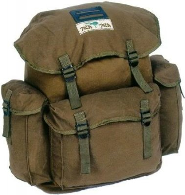 Colombia Carry All Field Bag / Backpack Water Resistant.