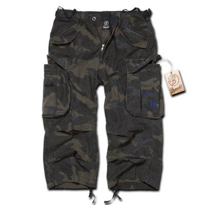 Brandit Industry 34 Vintage Shorts Darkcamo