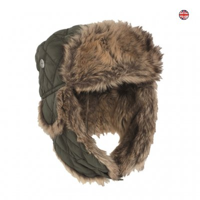 OD WINTER CAP WITH FAUX-FUR OD