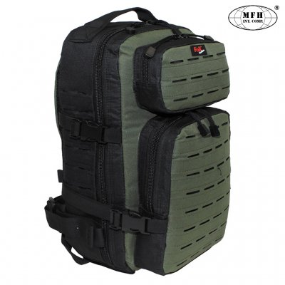 "Backpack ""Assault-Travel"", Laser, blacK"