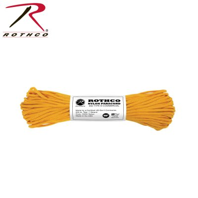 Paracord US Original GOLDENROD 30meter