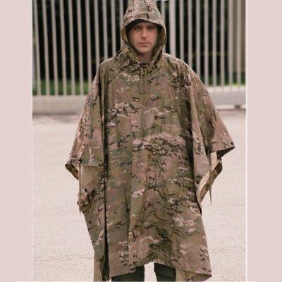 Amerikansk Regnponcho - Multicam - Regnkläder - Militärkläder ... ef64b58b0a4be