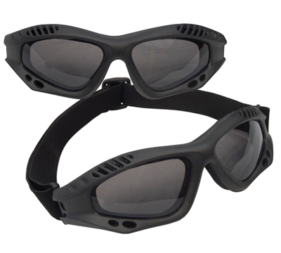 Rothco Black Tactical Goggles
