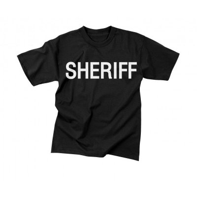 Sheriff T-Shirt Black
