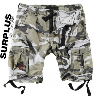 Surplus RAW Vintage Airborne Shorts - City Camo
