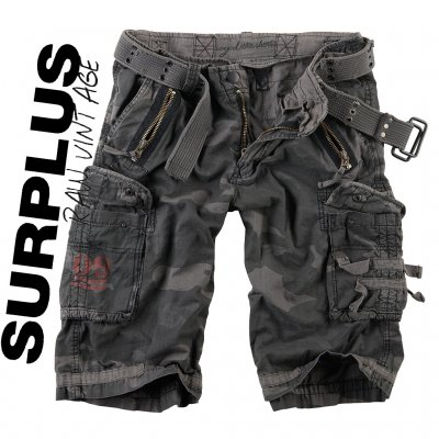 Surplus royal-shorta Black Camo
