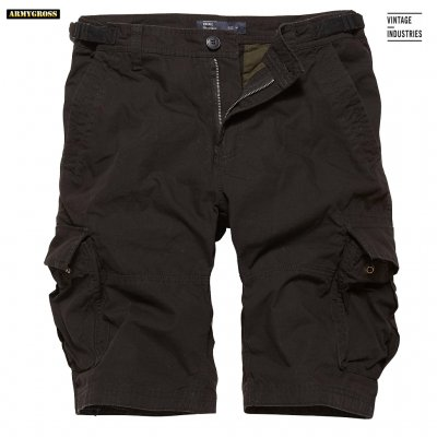 Terrance Shorts - Black - Vintage Industries