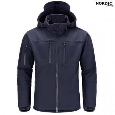 Nordic Army® Tornado Softshell Jacket - Navy Blue