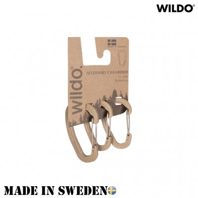 WILDO® CARABINER Set - Coyote Brown